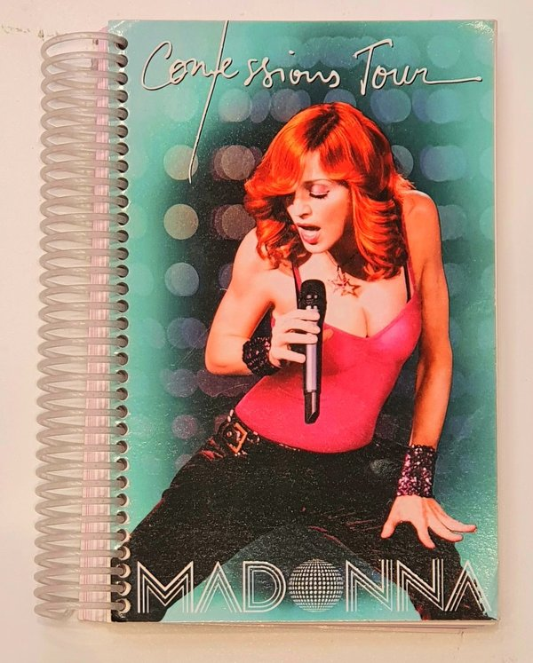 CONFESSIONS TOUR ROADBOOK  MADONNA-CD-DISQUES-RECORDS-BOUTIQUE VINYLES-SHOP-STORE-LPS-VINYLS