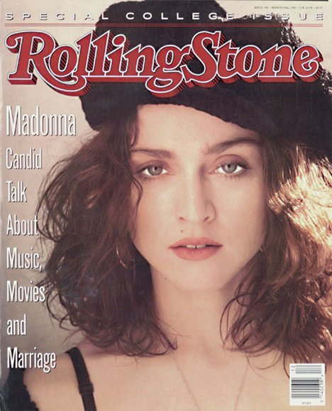 ROLLING STONE MAGAZINE 1989 USA   MADONNA-CD-DISQUES-RECORDS-BOUTIQUE VINYLES-SHOP-STORE-LPS-VINYLS