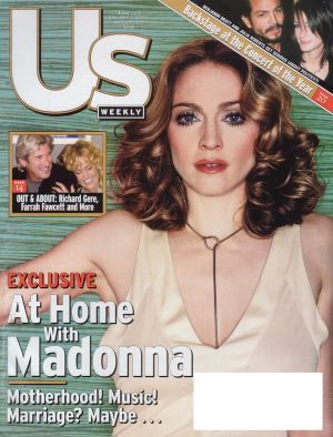 US WEEKLY MAGAZINE 2000 USA  MADONNA-CD-DISQUES-RECORDS-BOUTIQUE VINYLES-SHOP-STORE-LPS-VINYLS