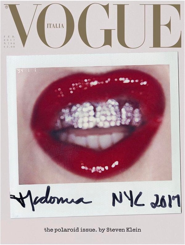 VOGUE  MAGAZINE ITALIE 2017 MADONNA-CD-DISQUES-RECORDS-BOUTIQUE VINYLES-SHOP-STORE-LPS-VINYLS