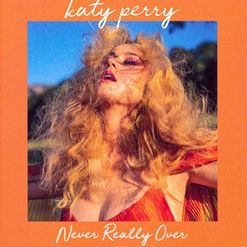 NEVER REALLY OVER  CD SAMPLER FRANCE /KATY PERRY-CD-DISQUES-RECORDS-BOUTIQUE VINYLES-SHOP-VINYLS