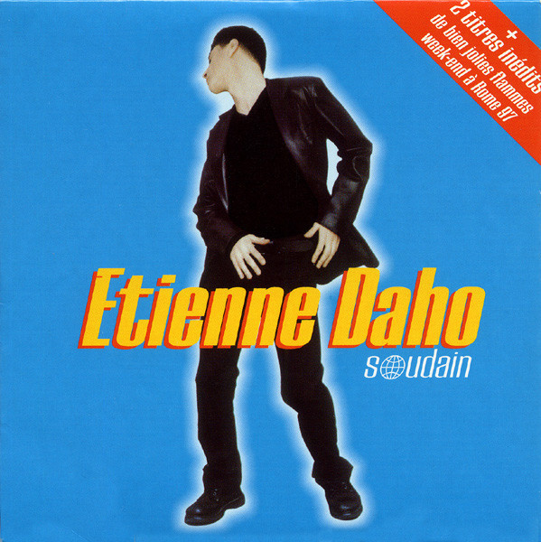 SOUDAIN CD SINGLE /ETIENNE DAHO-CD-DISQUES-RECORDS-BOUTIQUE VINYLES-SHOP-VINYLS