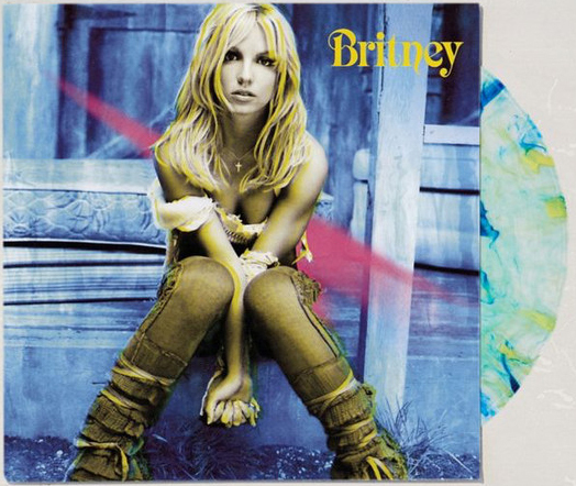 BRITNEY LP USA  SPLATTER  / BRITNEY SPEARS-CD--RECORDS-BOUTIQUE VINYLES-SHOP-COLLECTORS-