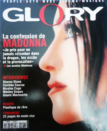 GLORY MAGAZINE 10 FRANCE  MADONNA-CD-DISQUES-RECORDS-BOUTIQUE VINYLES-SHOP-STORE-LPS-VINYLS