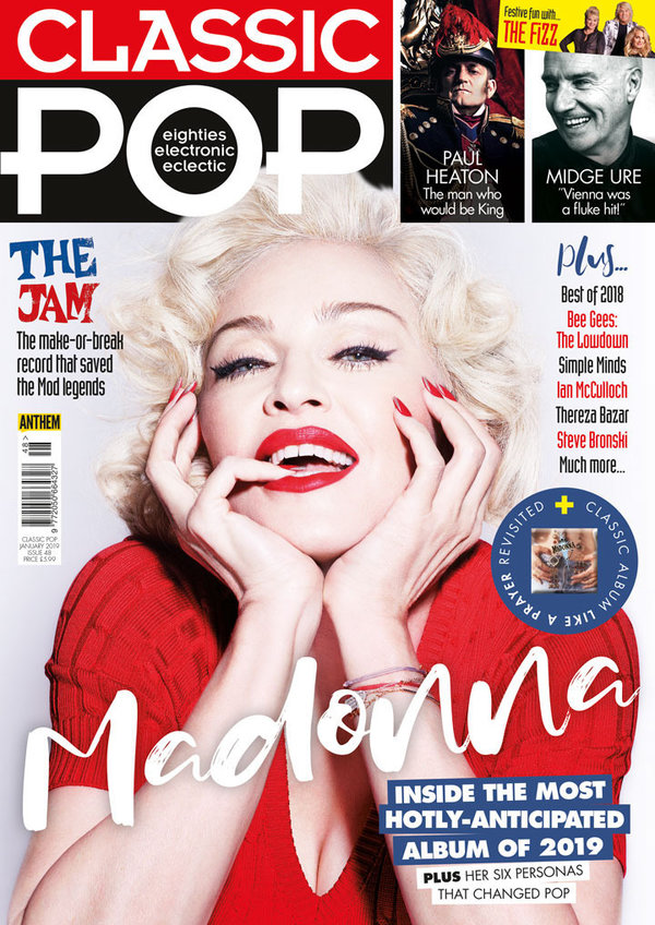 CLASSIC POP  MAGAZINE 2019 MADONNA-CD-DISQUES-RECORDS-BOUTIQUE VINYLES-SHOP-STORE-LPS-VINYLS