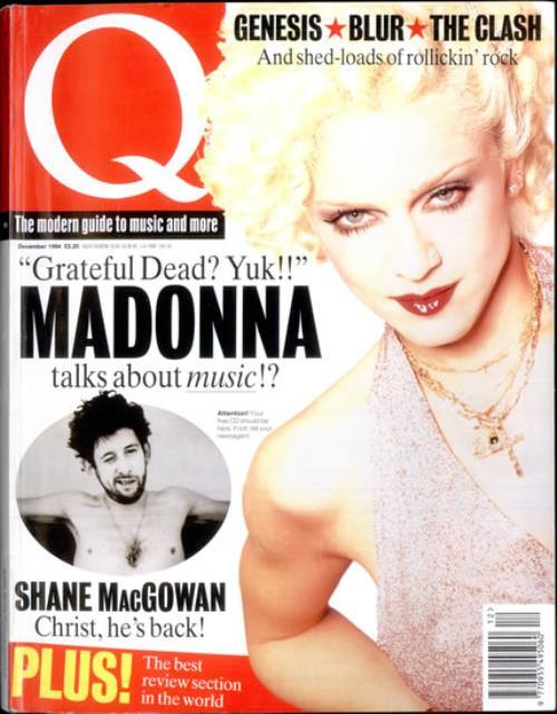 Q MAGAZINE 1994 UK  MADONNA-CD-DISQUES-RECORDS-BOUTIQUE VINYLES-SHOP-STORE-LPS-VINYLS
