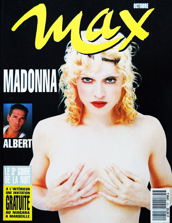 MAX MAGAZINE 1993 FRANCE  MADONNA-CD-DISQUES-RECORDS-BOUTIQUE VINYLES-SHOP-STORE-LPS-VINYLS