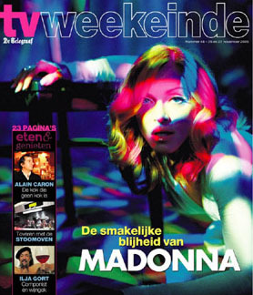TV WEEKEINDE   2005  MADONNA-CD-DISQUES-RECORDS-BOUTIQUE VINYLES-SHOP-STORE-VINYLS