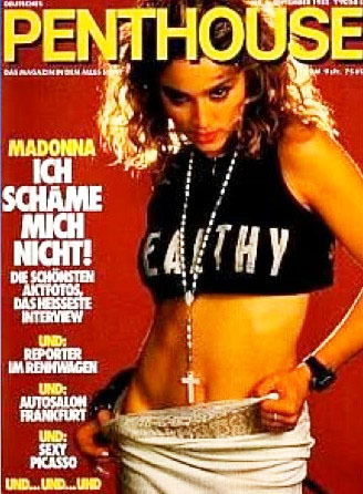 PENTHOUSE  MAGAZINE 1985 USA   MADONNA-CD-DISQUES-RECORDS-BOUTIQUE VINYLES-SHOP-STORE-LPS-VINYL8