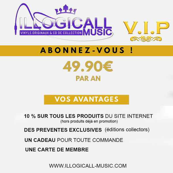 ILLOGICALL MUSIC PACK VIP/ CD-DISQUES-RECORDS-BOUTIQUE VINYLES-SHOP-STORE-LPS-VINYLS
