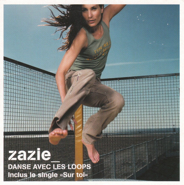 DANSE AVEC LES LOOPS CD SINGLE   /ZAZIE-CD-DISQUES-RECORDS-BOUTIQUE VINYLES-SHOP-VINYLS-DISQUAIRE
