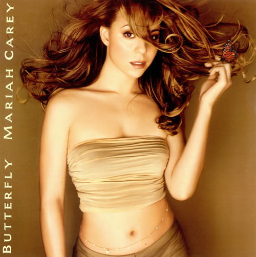 BUTTERFLY LP EUROPE MARIAH CAREY-RECORDS-STORE-LPS-VINYLS-SHOP-COLLECTORS-AWARDS