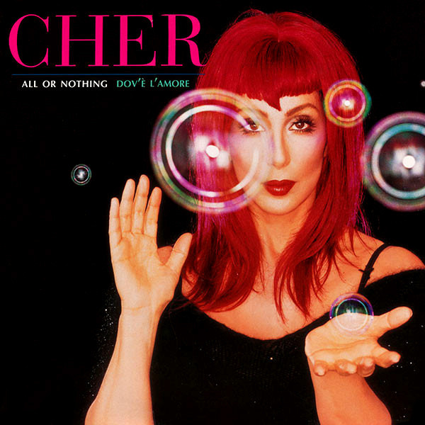 ALL OR NOTHING DOUBLE MAXI 45T USA  / CHER-CD-DISQUES-VINYLES-SHOP-COLLECTORS-STORE