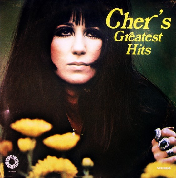 GREATEST HITS 33T USA    / CHER-CD-DISQUES-VINYLES-SHOP-COLLECTORS-STORE