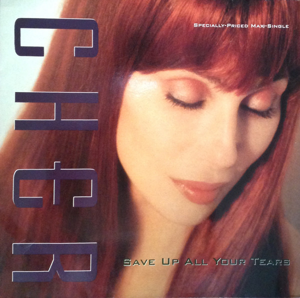 SAVE ALL UP YOUR TEARS MAXI 45T EUR / CHER-CD-DISQUES-VINYLES-SHOP-COLLECTORS-STORE-DISQUAIRE