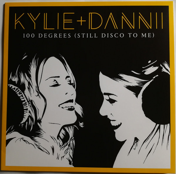 100 DEGREES MAXI 45T UK  /  KYLIE MINOGUE-CD-DISQUES-RECORDS-BOUTIQUE VINYLES-RECORDS-DISQUAIRE