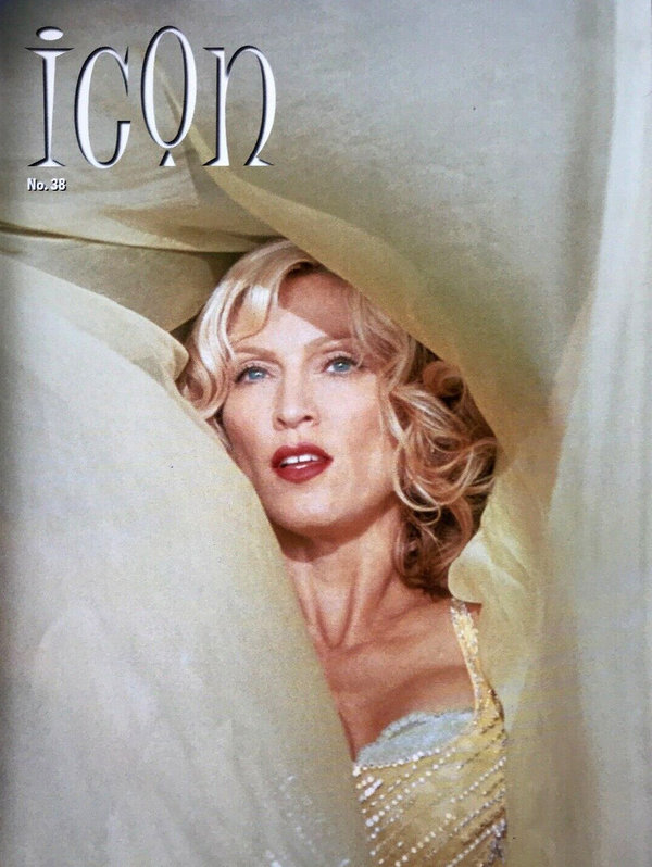 ICON MAGAZINE 38 MADONNA-CD-DISQUES-RECORDS-BOUTIQUE VINYLES-SHOP-STORE-LPS-VINYLE-DISQUAIRE
