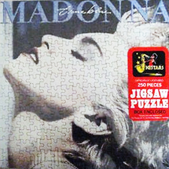 TRUE BLUE PUZZLE UK SCELLE MADONNA-RECORDS-BOUTIQUE VINYLES-SHOP-STORE-LPS-VINYLE-DISQUAIRE