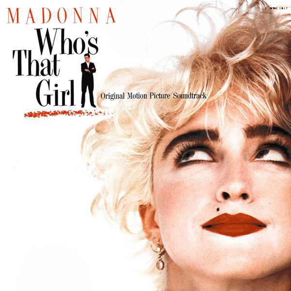 WHO'S THAT GIRL 33T ZIMBABWE  MADONNA-RECORDS--SHOP-STORE-LPS-VINYLE-DISQUAIRE