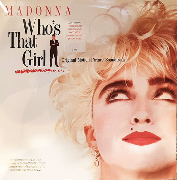 WHO'S THAT GIRL 33T SAMPLER USA MADONNA-RECORDS--SHOP-STORE-LPS-VINYLE-DISQUAIRE