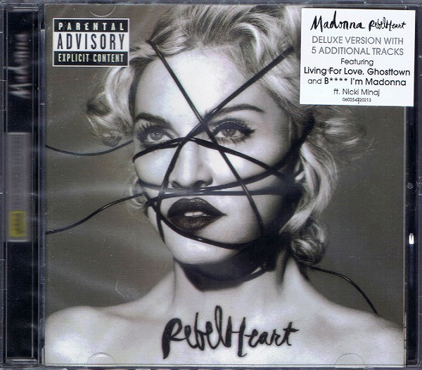 REBEL HEART CD PHILIPPINES / MADONNA-DISQUES-RECORDS-BOUTIQUE VINYLES-SHOP-STORE-LPS-VINYLS