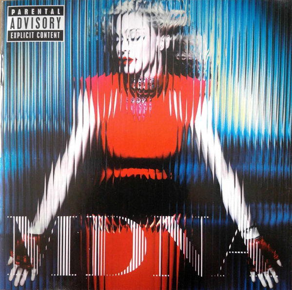 MDNA CD  MEXIQUE  / MADONNA-DISQUES-RECORDS-BOUTIQUE VINYLES-SHOP-STORE-LPS-VINYLS