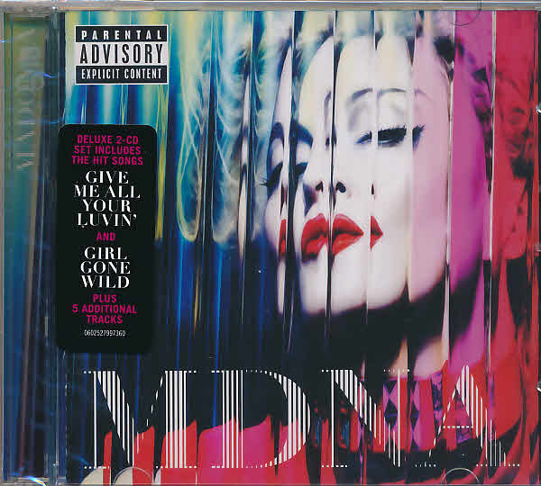 MDNA BOX  CD DELUXE HONG KONG/ MADONNA-DISQUES-RECORDS-BOUTIQUE VINYLES-SHOP-STORE-LPS-VINYLS
