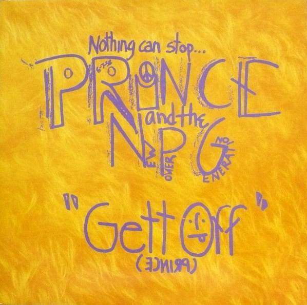 GETT OFF MAXI 45T EUROPE / PRINCE-CD-DISQUES-RECORDS-BOUTIQUE VINYLS-RECORDS