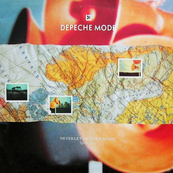 NEVER LET ME DOWN  MAXI 45T FRANCE DEPECHE MODE-CD-DISQUES-RECORDS-BOUTIQUE VINYLES-SHOP-LPS-VINYLS