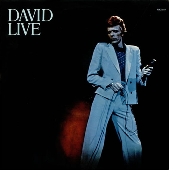 DAVID LIVE LP UK / DAVID BOWIE-CD-DISQUES-RECORDS-BOUTIQUE VINYLES-MUSICSHOP-STORE