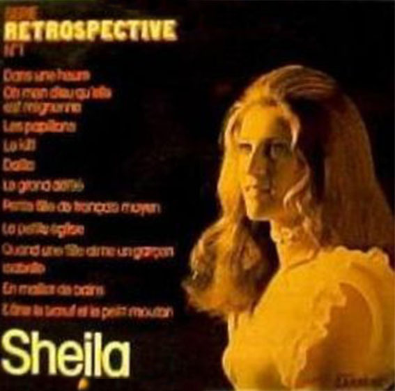 RETROSPECTIVE  1 33T /SHEILA-CD-DISQUES-BOUTIQUE VINYLES-SHOP-LPS-STORE-SHOP-COLLECTORS