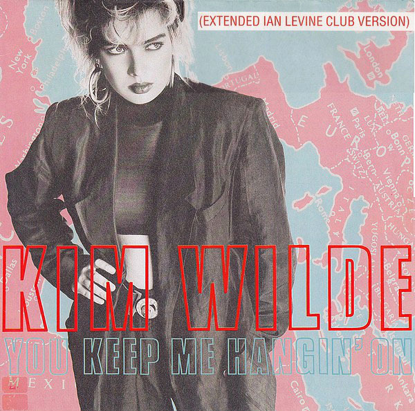YOU KEEP ME  MAXI 45T EUROPE/  KIM WILDE-CD-DISQUES-RECORDS-BOUTIQUE VINYLES-SHOP-STORE-LPS-VINYLS