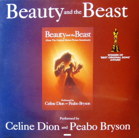 BEAUTY AND THE BEAST 12 MAXI  EUROPE / CELINE DION-CD--LPS- VINYLS-SHOP-COLLECTORS-STORE-AWARDS