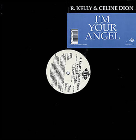 I'M YOUR ANGEL MAXI 45T USA  / CELINE DION-CD-DISQUES-BOUTIQUE VINYLES-SHOP--STORES