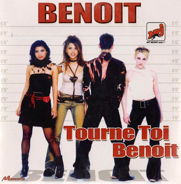 BENOIT CD SINGLE /NAJOUA BELYZEL-CD-DISQUES-RECORDS-BOUTIQUE VINYLES-SHOP-STORE-VINYLS