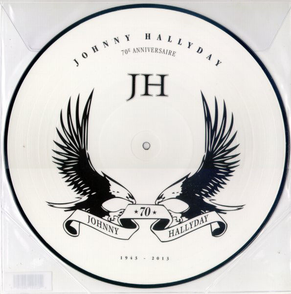 1943-2013 PICTURE DISC FRANCA  / JOHNNY HALLYDAY-CD-DISQUES-RECORDS-BOUTIQUE VINYLES-RECORDS