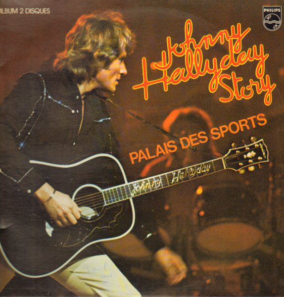 PALAIS DES SPORTS 1976 DOUBLE 33T  / JOHNNY HALLYDAY-CD-DISQUES-RECORDS-BOUTIQUE VINYLES-RECORDS