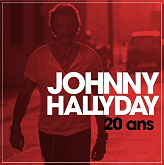 20 ANS / 10 INCHES FRANCE  / JOHNNY HALLYDAY-CD-DISQUES-RECORDS-BOUTIQUE VINYLES-RECORDS