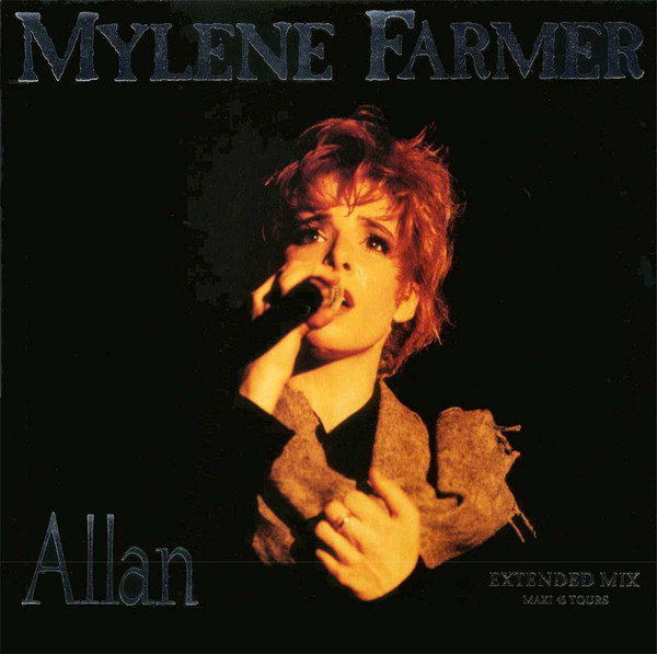 ALLAN 12 INCHES 1ER PRES   / MYLENE FARMER - RECORDS - DISQUES - VINYLES - CD - SHOP
