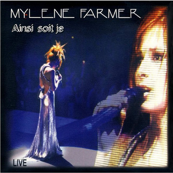 AINSI SOIT JE LIVE / CD SINGLE / MYLENE FARMER - RECORDS - DISQUES - VINYLES - CD - SHOP - BOUTIQUE
