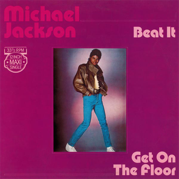 BEAT IT 12 ' MAXI EUROPE / MICHAEL JACKSON  - CD - DISQUES - RECORDS -  BOUTIQUE VINYLES