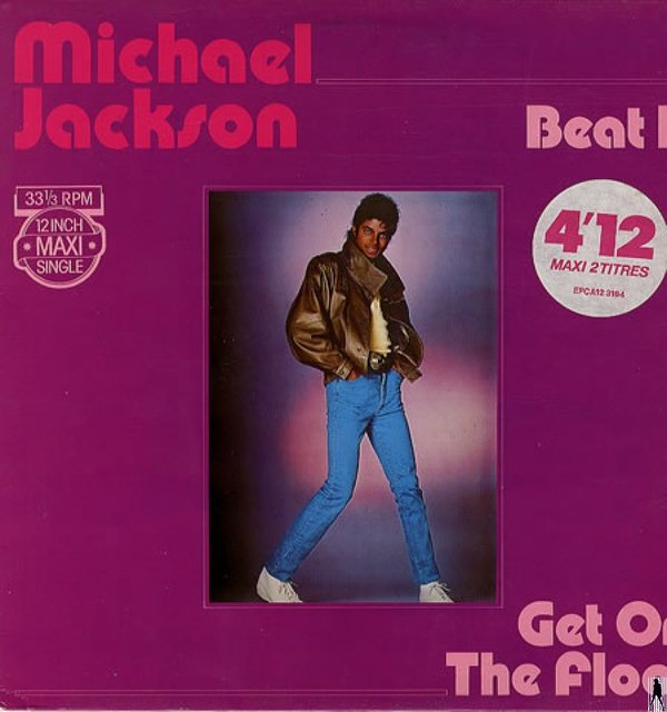 BEAT IT 12 ' MAXI FRANCE / MICHAEL JACKSON  - CD - DISQUES - RECORDS -  BOUTIQUE VINYLES
