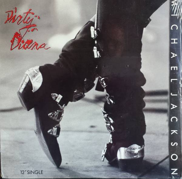 DIRTY DIANA MAXI 45T  USA /  MICHAEL JACKSON- CD - DISQUES - RECORDS -  BOUTIQUE VINYLES