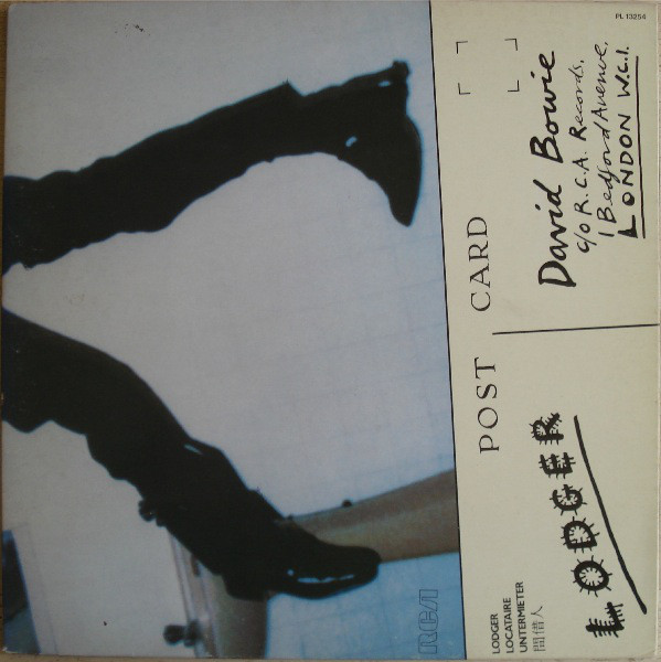 LODGER 12 INCHES LP  GERMANY  / DAVID BOWIE  - CD - RECORDS -  BOUTIQUE VINYLES
