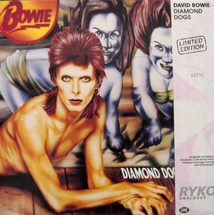 DIAMOND DOGS LIMITE 33T  USA /  DAVID BOWIE - CD - DISQUES - RECORDS -  BOUTIQUE VINYLES