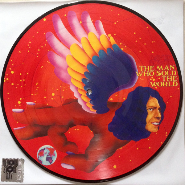 THE MAN WHO SOLD THE WORLD PICTURE DISC  /  DAVID BOWIE - CD - DISQUES - RECORDS -  BOUTIQUE VINYLES