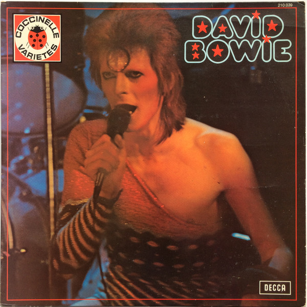 DAVID BOWIE LP  FRANCE  / DAVID BOWIE  - CD - RECORDS -  BOUTIQUE VINYLES