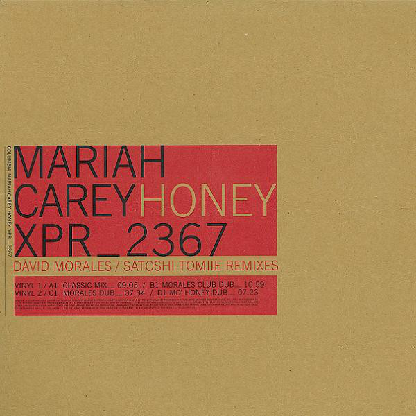 HONEY DOUBLE 12 INCHES MAXI SAMPLER UK  / MARIAH CAREY  - CD - RECORDS -  BOUTIQUE VINYLES