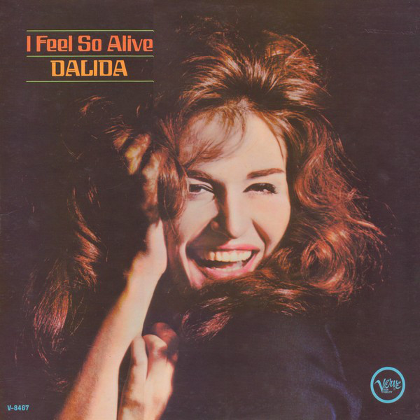 I FEEL SO ALIVE LP  USA / DALIDA  - CD - RECORDS -  BOUTIQUE VINYLES