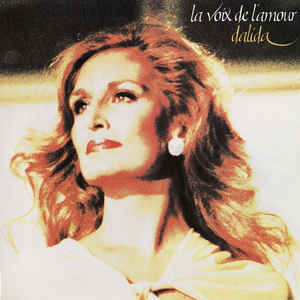 LA VOIX DE L'AMOUR LP  FRANCE/ DALIDA  - CD - RECORDS -  BOUTIQUE VINYLES